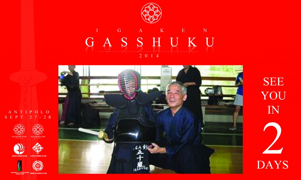 2 days to Gasshuku!