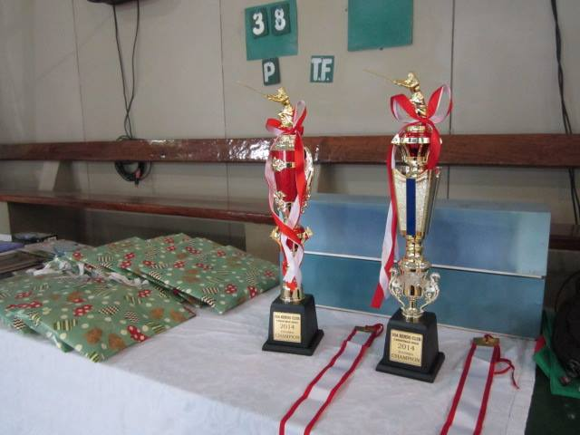 Trophies for Dasma