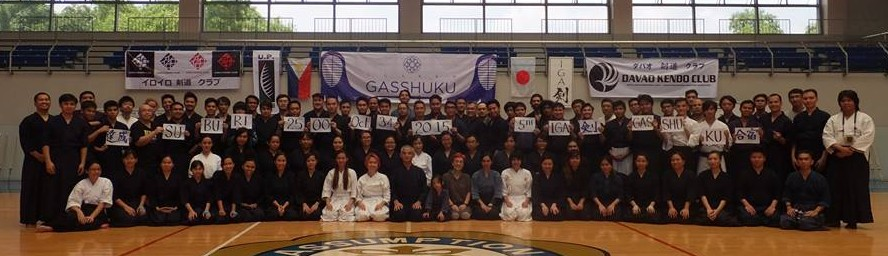 Gasshuku 2015 group picture